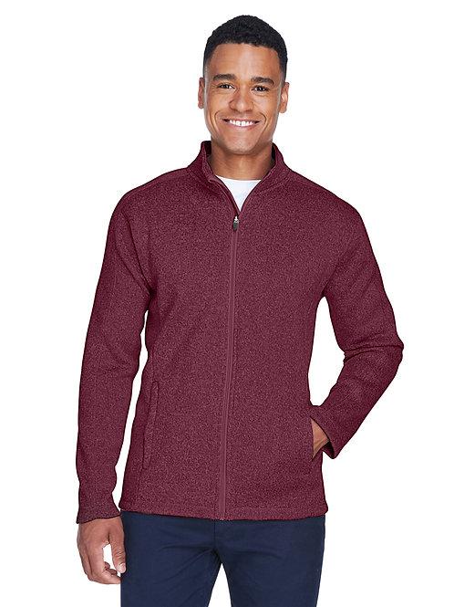 Devon & Jones Men's Bristol Full-Zip Sweater Fleece Jacket DG793