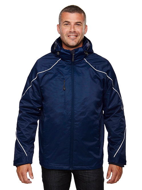 North End Men's Tall Angle 3-in-1 Jacket with Bonded Fleece Liner 88196T