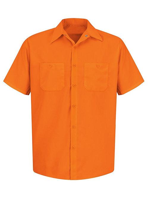 Red Kap - Enhanced Visibility Short Sleeve Work Shirt Tall Sizes - SS24L
