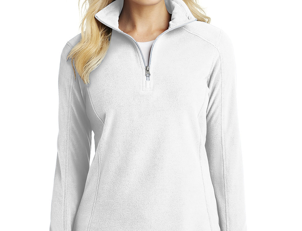 Port Authority® Ladies Microfleece 1/2-Zip Pullover L224