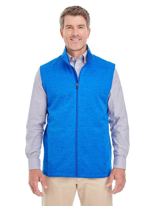 Devon & Jones Men's Newbury Mélange Fleece Vest DG797