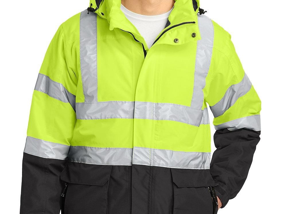 Port Authority® ANSI 107 Class 3 Safety Heavyweight Parka J799S