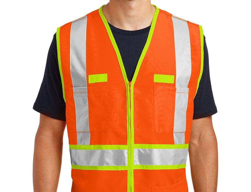 CornerStone® - ANSI 107 Class 2 Dual-Color Safety Vest CSV407