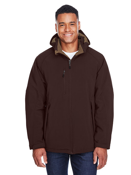 North End Men's Glacier Insulated Three-Layer Fleece Bonded Soft Shell 88159
