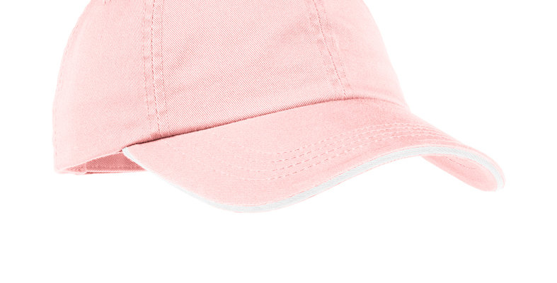 Port Authority Ladies Sandwich Bill Cap with Striped Closure LC830