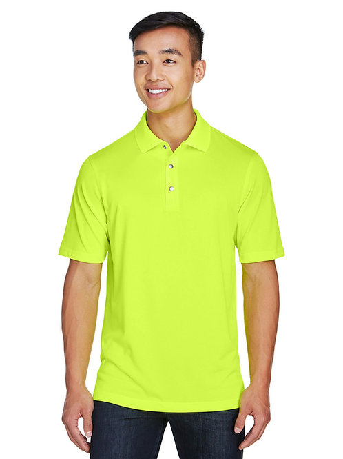 Harriton Men's Advantage Snag Protection Plus IL Snap Placket Polo M345