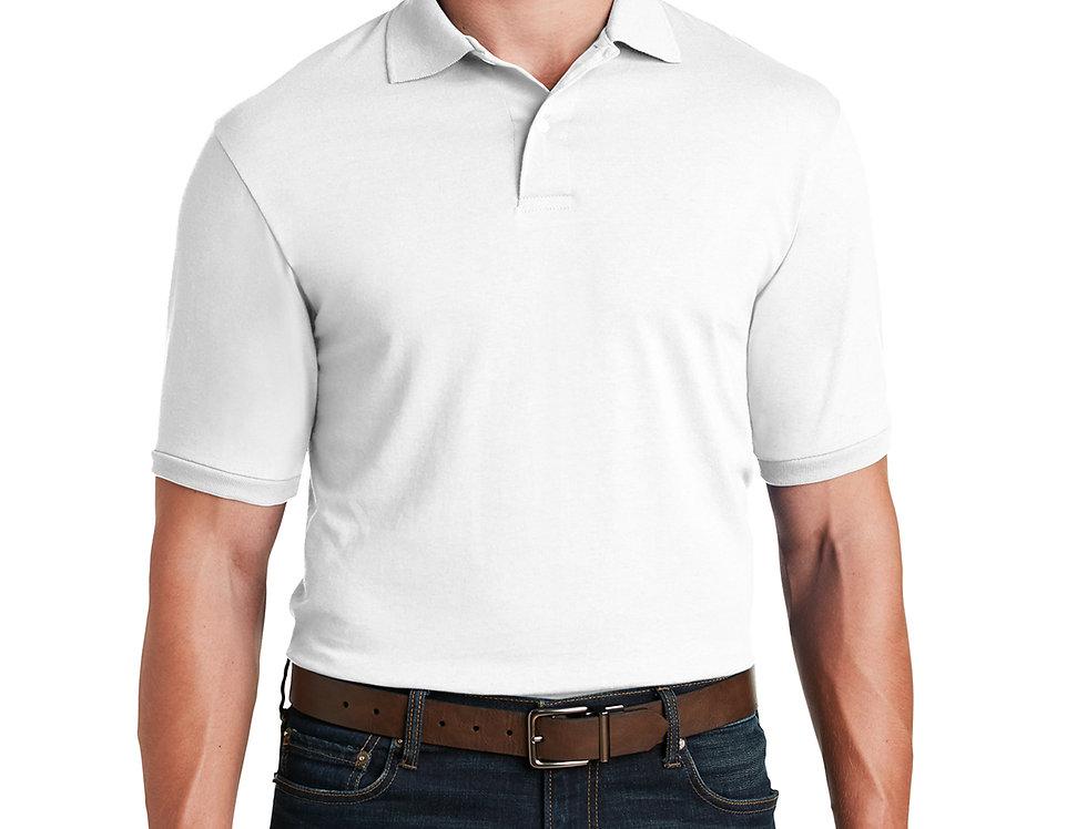 JERZEES SpotShield 5.6-Ounce Jersey Knit Sport Shirt 437M