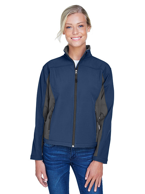 Devon & Jones Ladies' Soft Shell Colorblock Jacket D997W
