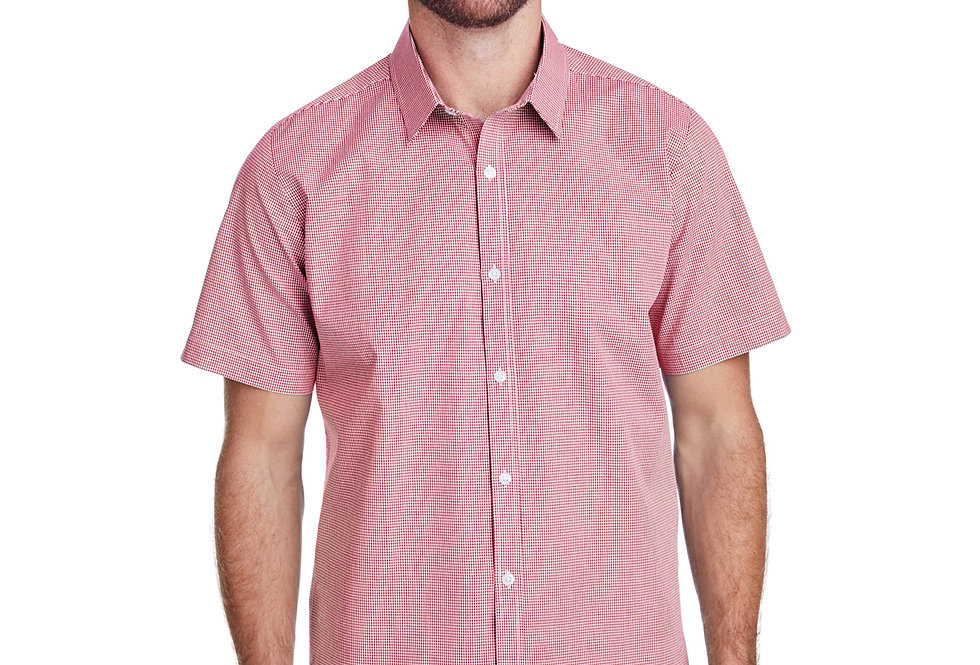 Artisan Collection by Reprime Mens Microcheck Gingham Short RP221