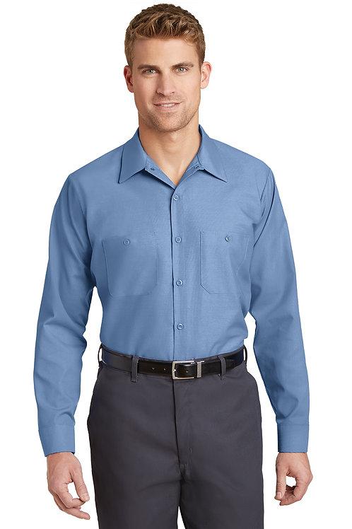 Red Kap® Long Size. Long Sleeve Industrial Work Shirt SP14LONG