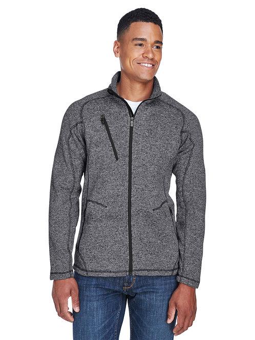 North End Men's Peak Sweater Fleece Jacket 88669