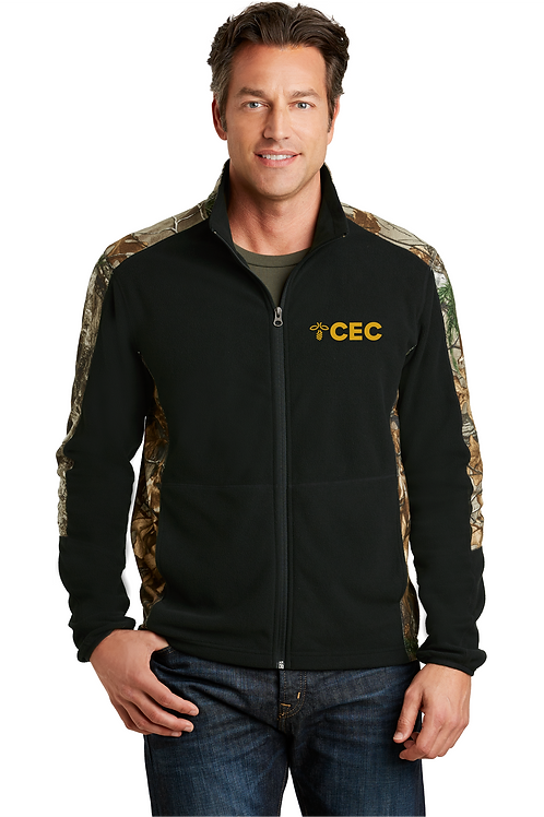 Port Authority® Camouflage Microfleece Full-Zip Jacket F230C