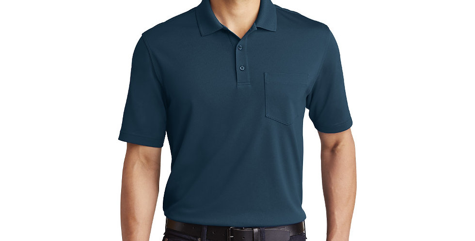 Port Authority Dry Zone UV Micro-Mesh Pocket Polo K110P