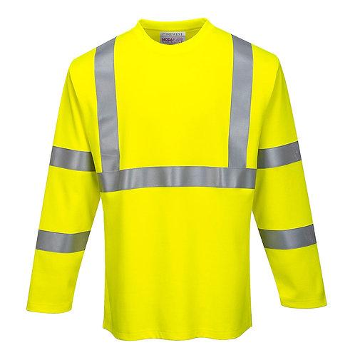 FR Hi-Vis Long Sleeve T-Shirt FR96