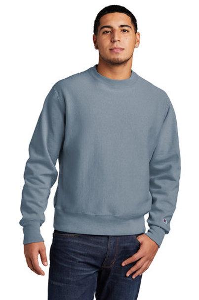 Champion ® Reverse Weave ® Garment-Dyed Crewneck Sweatshirt GDS149