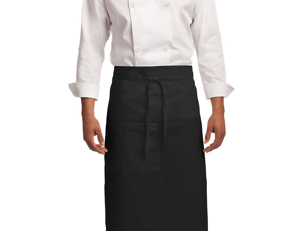 Port Authority® Easy Care Full Bistro Apron with Stain Release A701