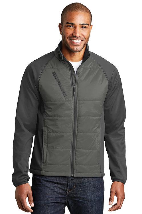 Port Authority® Hybrid Soft Shell Jacket J787