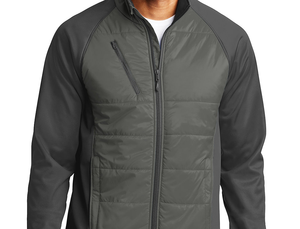 Port Authority® Hybrid Soft Shell Jacket J787