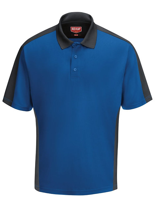 Red Kap - Short Sleeve Performance Knit Two Tone Polo - SK54