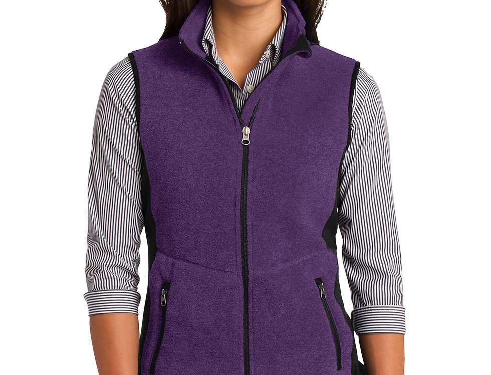 Port Authority® Ladies R-Tek® Pro Fleece Full-Zip Vest L228