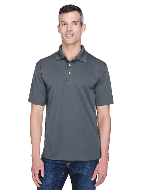 UltraClub Men's Cool & Dry Stain-Release Performance Polo 8445