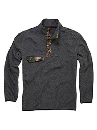Dri Duck Men's Denali Quarter-Zip Fleece Jacket 7352