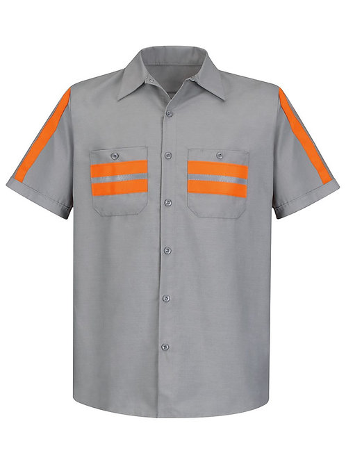 Red Kap - Enhanced Visibility Industrial Work Shirt - SP24E