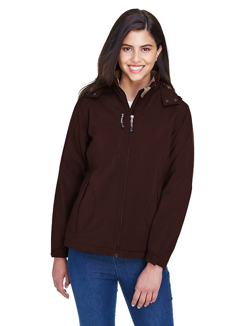 North End Ladies' Glacier Insulated Three-Layer Fleece Bonded Soft Shell 78080