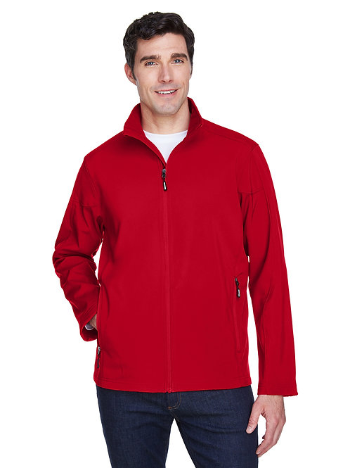 Core 365 Men's Cruise Two-Layer Fleece Bonded Soft Shell Jacket 88184