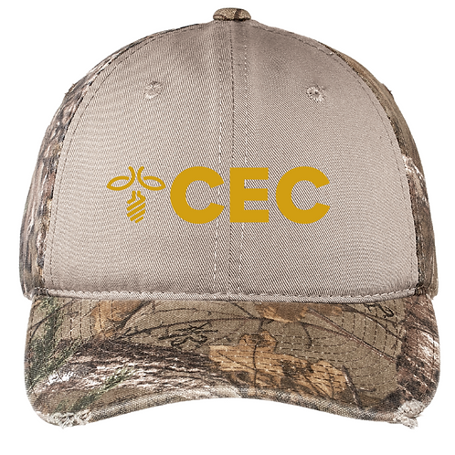 Port Authority® Camo Cap with Contrast Front Panel C807