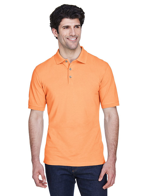 UltraClub Men's Classic Piqué Polo 8535