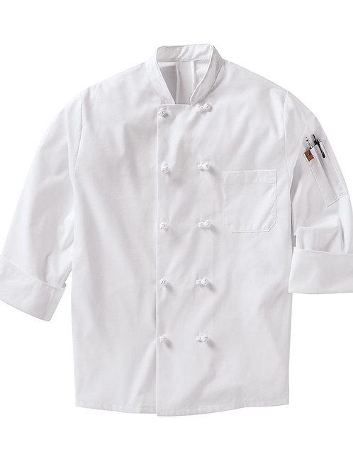 Chef Designs - Mimix™ Ten Knot Button Chef Coat with OilBlok - 044X