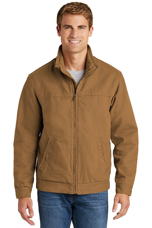 CornerStone® Washed Duck Cloth Flannel-Lined Work Jacket CSJ40