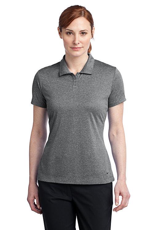 Nike Ladies Dri-FIT Heather Polo 474455