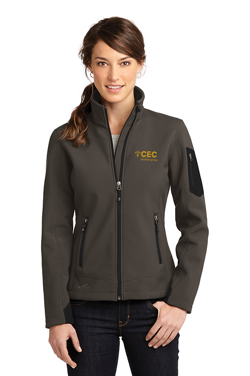 Eddie Bauer® Ladies Rugged Ripstop Soft Shell Jacket EB535