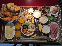 Bed and Office: Ontbijt voor 3