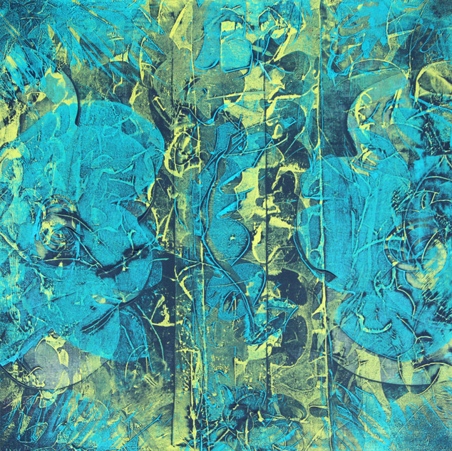IMG_2627 - Wiping Fleurs bleues- 40X40-