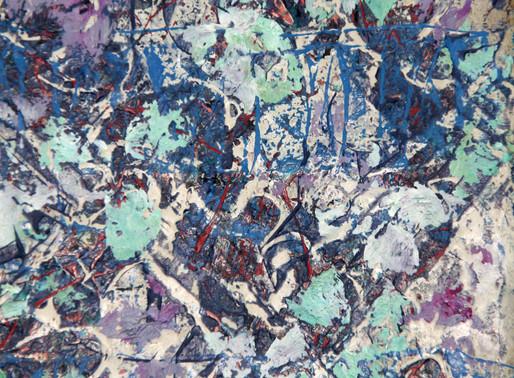 Pour Noel, une peinture sur pierre. Oeuvre unique Mais aussi des peintures sur papiers