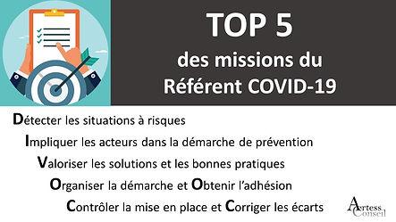 Actu 5 Missions Referent Covid 19