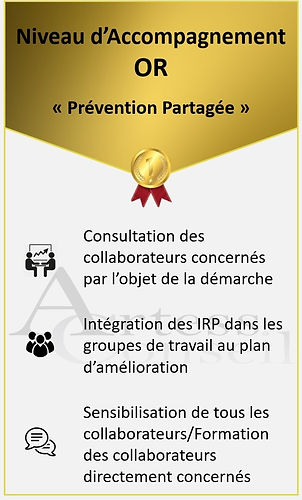 Accompagnement Or Prevention Partagee Artess ConseilI
