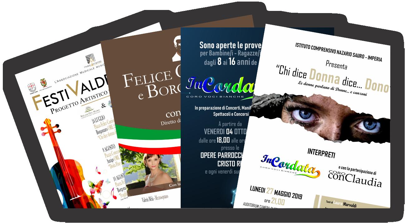 Liona Locandine varie Musicartemia