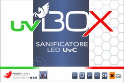 Etichetta uvBOX con tricolore evoluzione