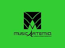 Musicartemia logo sfondo verde.png