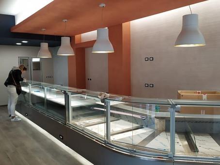 La catena genovese Giopescal rinnova l'elegante punto vendita di Via Galata