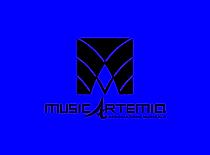 Musicartemia logo sfondo ciano.png