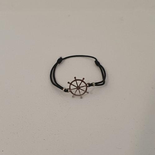 Bracelet élastique Gouvernail acier inoxydable