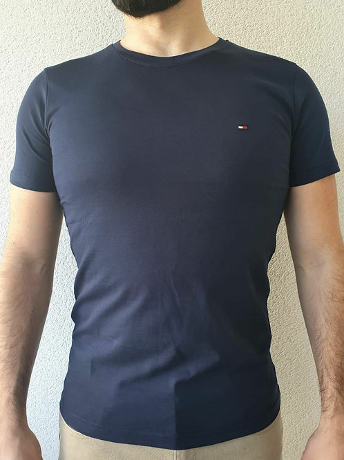 Tee-shirt Tommy Hilfiger bleu marine plusieurs tailles disponibles