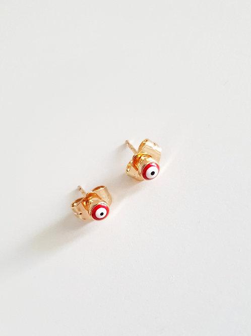 Boucles d'oreilles puces 👁