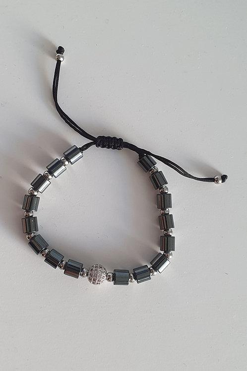 Bracelet perles réglable