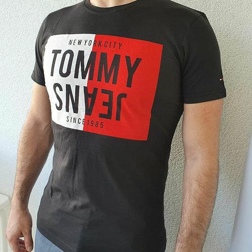 Tee-shirt Tommy Jeans couleur noir